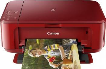 Multifunctionala Canon Pixma Inkjet MG3650 Duplex Wireless  Red