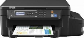 Multifunctionala Color Epson L605 CISS Consumabile incluse Duplex Wireless A4 Multifunctionale