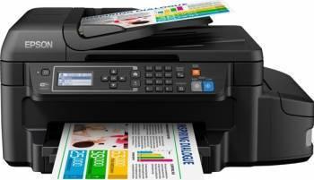 Multifunctionala Color Epson Inkjet CISS L655 Duplex Wireless Fax Multifunctionale