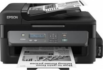 Multifunctionala Monocrom Epson WorkForce InkJet M200 Retea ADF A4 Multifunctionale
