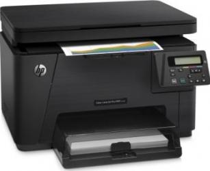 Multifunctionala Laser Color HP LaserJet Pro MFP M176n Retea