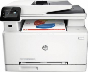 Multifunctionala Laser Color HP LaserJet Pro MFP M277dw Duplex Wireless Fax A4 Multifunctionale