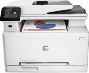 Multifunctionala HP Color LaserJet Pro MFP M277n Retea Fax ADF A4  Multifunctionale