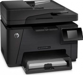 Multifunctionala Laser Color HP LaserJet Pro MFP M177fw Wireless Fax ADF