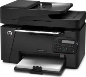 Multifunctionala HP LaserJet alb-negru Pro MFP M127fn Fax Retea ADF
