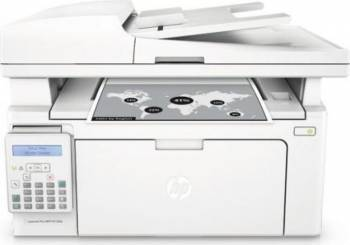 Multifunctionala HP Laser Monocrom LaserJet Pro M130FN Retea Fax