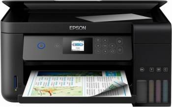 Multifunctionala inkjet color Epson EcoTank ITS L4160 Duplex A4 Multifunctionale