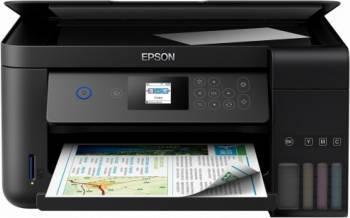 Multifunctionala inkjet color Epson EcoTank ITS L4160 Duplex A4 Multifunctionale
