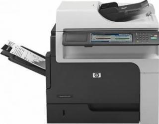 Multifunctionala Laser Monocrom HP M4555F MFP Duplex Retea A4 Refurbished Fara Stand Imprimante, Multifunctionale Refurbished
