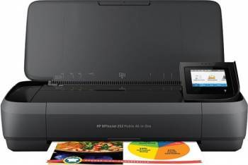 Multifunctionala Inkjet color HP OfficeJet 252 Mobile Wireless A4 Multifunctionale