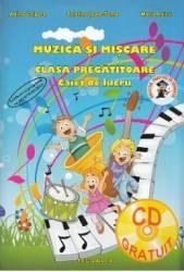 Muzica si miscare - Clasa pregatitoare - Caiet de lucru + CD - A. Grigore C. Ipate-Toma M. Raicu title=Muzica si miscare - Clasa pregatitoare - Caiet de lucru + CD - A. Grigore C. Ipate-Toma M. Raicu