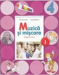 Muzica si miscare Clasa 4 Caiet Sem.1 + CD - Florentina Chifu Petre Stefanescu