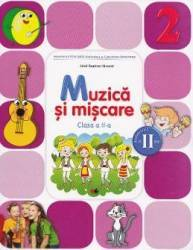Muzica si miscare cls 2 sem.2 + CD - Irinel Beatrice Nicoara