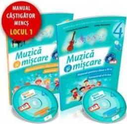 Muzica si miscare cls 4 sem.1+2 + CD - Lacramioara-Ana Pauliuc