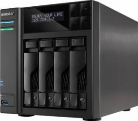 NAS Asustor AS7004T 4-Bay noHDD Network attached storage NAS