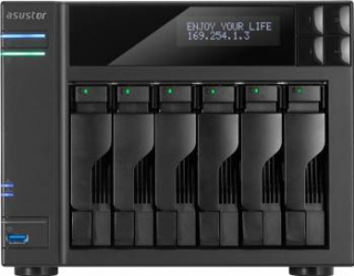 NAS Asustor AS-606T 6-Bay noHDD Network attached storage NAS