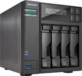 NAS Asustor AS6404T 4-Bay noHDD Network attached storage NAS