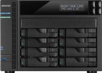 NAS Asustor AS7008T 8-Bay noHDD Network attached storage NAS