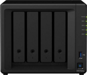 NAS Synology 	DiskStation DS418play 4-Bay Black Network attached storage NAS