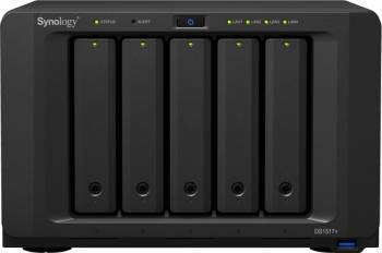 NAS Synology DS1517+ 5-Bay 2GB Black Network attached storage NAS