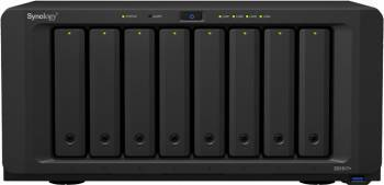 NAS Synology DS1817+ 8-Bay 2GB Black Network attached storage NAS