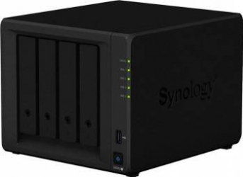 NAS Synology DS918+ 4-Bay 4GB Black Network attached storage NAS