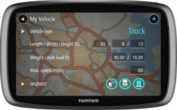 Navigator GPS Auto Tom Tom Trucker 6000 Full Europa