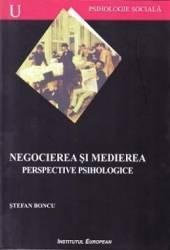 Negocierea si medierea perspective psihologice - Stefan Boncu