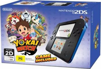 Nintendo 2DS Blue Yokai Watch - GDG