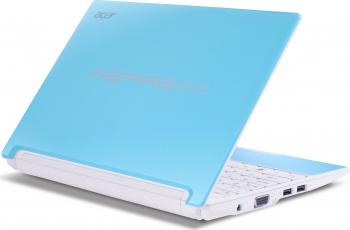 imagine Notebook Acer AO Happy-13DQb2b N450 250GB 1GB Blue lu.sef0d.133