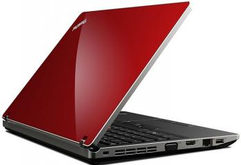 imagine Notebook Lenovo ThinkPad EDGE 15 i3 380M 500GB 2GB WIN7 Red nvlg4ri