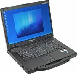 imagine Notebook Panasonic Toughbook CF-52 T7100 80GB 1GB XP UK KB cf-52ccabvl2