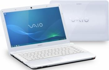 imagine Notebook Sony VAIO VPC-EA4S1EW i3 380M 320GB 2GB HD5470 WIN7 vpcea4s1e/w.ee9