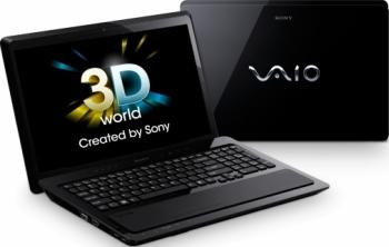 imagine Notebook Sony VAIO VPC-F21Z1EBI i7 2630QM 640GB 8GB GT540M WIN7 vpcf21z1e/bi.ee9