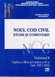 Noul Cod civil. Studii si comentarii. Vol. 2 Art. 535-1163