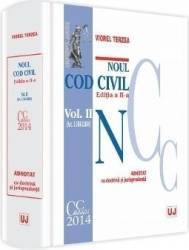 Noul Cod civil vol. I art. 1-1.163 adnotat cu doctrina si jurisprudenta ed. 2 - Viorel Terzea