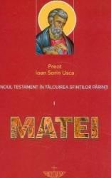 Noul Testament in talcuirea Sfintilor Parinti 1 Matei - Ioan Sorin Usca