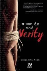 Nume de cod Verity - Elizabeth Wein