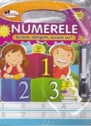 Numerele - Scriem stergem scriem iar