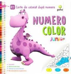 Numero Color Junior Plus - Carte de colorat dupa numere