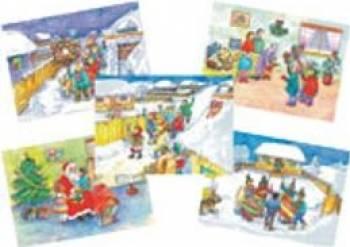 Obiceiuri Si Traditii De Craciun - Planse - Material Didactic Pentru Activitatile Din Gradinita