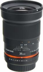 Obiectiv Foto Samyang 35mm f1.4 pentru Canon Manual Focus