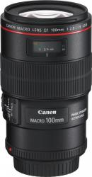 Obiectiv Foto Canon EF 100mm f2.8L IS USM Macro 1 1 IS Obiective