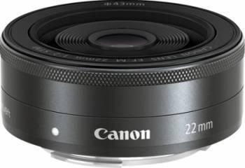 Obiectiv Foto Canon EF-M 22mm f2 STM Obiective