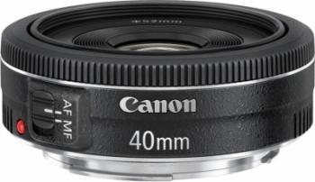 Obiectiv Foto Canon Pancake EF 40mm f2.8 STM Obiective