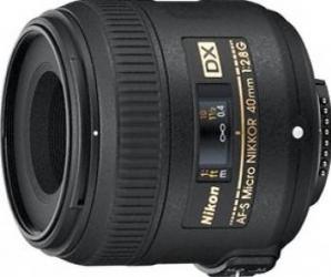Obiectiv Foto Nikon 40mm f2.8G ED DX AF-S Obiective