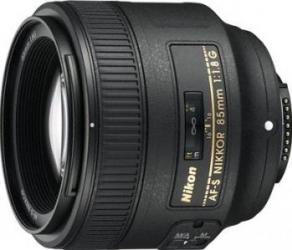 Obiectiv Foto Nikon 85mm f1.8G AF-S Obiective
