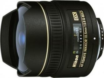 Obiectiv Foto Nikon AF 10.5mm f2.8G ED DX Fisheye Obiective