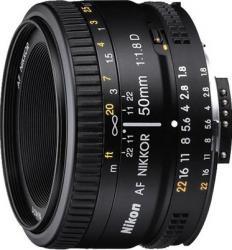Obiectiv Foto Nikon AF 50mm f1.8D Obiective