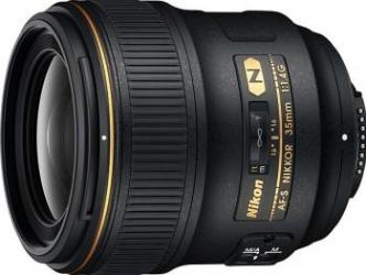 Obiectiv Foto Nikon AF-S 35mm f1.4G Obiective